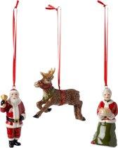 Villeroy & Boch Nostalgic Ornaments Ornamenten North Pole Express Set 3-dlg.