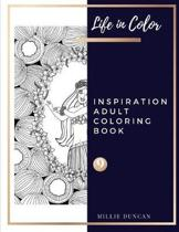 INSPIRATION ADULT COLORING BOOK (Book 9)