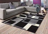 Vloerkleed  retro 120x170cm zwart, creme Hanse Home