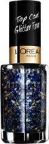 L'Oréal Paris Make-Up Designer Color Riche Les Topcoats 955 Hip Hop nagel top coat Blauw/goud