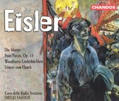 Eisler: Die Mutter, Four Pieces etc / Diego Fasolis et al