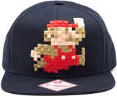 Nintendo - Mario 8 Bit Pixel Snapback