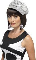 Disco accessoires verkleedset disco petje en oorbellen dames