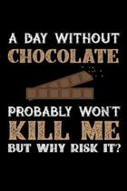 A Day Without Chocolate Probably Won't Kill Me But Why Risk It?
