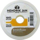 Hendrik Jan binddraad nylon 0,5 mm x 25 m