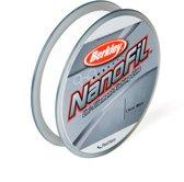 Berkley NanoFil Clear Mist - Gevlochten Vislijn - 0.12 mm - 6.9 kg - 270m