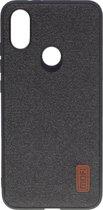 Mofi - Xiaomi Mi A2 Hoesje - Harde Back Case Denim Donker Grijs