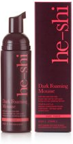 He-Shi Dark Foaming Mousse - 150 ml - Zelfbruiner
