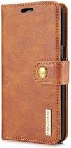 DG.Ming - Samsung Galaxy S8 Hoesje - Uitneembare Wallet case Cabello Bruin