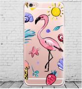 Apple Iphone 6 / 6S Siliconen cover hoesje (Zomer)