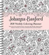 Johanna Basford 2020 Weekly Colouring Planner Activity Diary