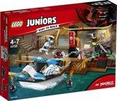 LEGO Juniors NINJAGO Zane's Ninjabootachtervolging - 10755