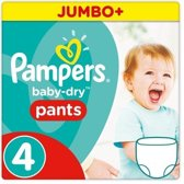 Pampers Easy Up - maat 4 - 144 luiers