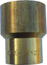 Verloopsok capillair 22x15mm ms