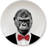 Mustard kinderbord Wild Dining - Gorilla
