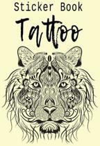 Sticker Book Tattoo