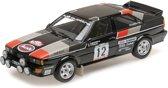 Audi Quattro No.12, Rally de Portugal 1981 Mouton/Pons 1-18 Minichamps Limited 300 Pieces