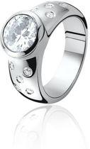 Zinzi - Zilveren Ring - Zirkonia - Maat 50 (ZIR575-50)