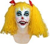"""""""Masker van een angstaanjagende clownspop voor volwassenen Halloween - Verkleedmasker - One size"""""""
