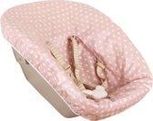 UKJE.NL Geplastificeerde hoes voor newborn set Stokke TrippTrapp - Oudroze met sterretjes ♥