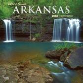 Arkansas, Wild & Scenic 2018 Wall Calendar