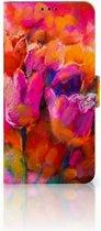 Huawei P Smart Plus Boekhoesje Design Tulips