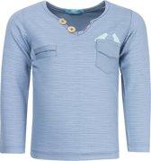 Lief! Lifestyle Jongens Shirt - Blue Turqoise - Maat 56