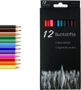Kleurpotloden 18 cm 12-delig 24 sets