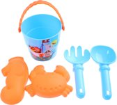 Free And Easy Emmerset 8 Cm 5-delig Blauw