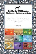 Bull Terrier 20 Milestone Challenges: Outdoor & Activity: Bull Terrier Milestones for Outdoor Fun, Socialization, Agility & Training Volume 1
