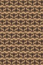 Viking Pattern - Thor Hammer Brown