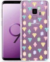 Galaxy S9 Hoesje Diamonds