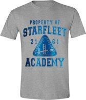 Star Trek - Starfleet Academy Mannen T-Shirt - Grijs - M
