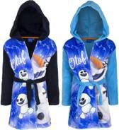 Frozen Olaf licht blauwe badjas maat 104