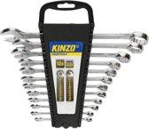 Kinzo Steek- & Ringsleutelset 6 Tot 22 mm 12-delig