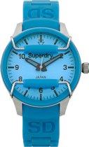 Superdry Scuba Midi SYL120AU - Horloge - Blauw- 36 mm