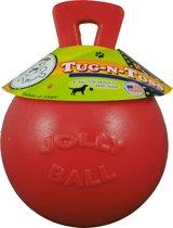 Jolly Ball Tug-n-Toss - Medium (6 inch) 15 cm rood