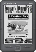 Autovision AV-61 6'' 4GB Zwart e-book reader