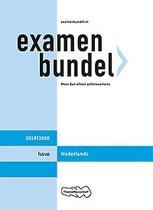 Boek cover Examenbundel havo Nederlands 2019/2020 van M. Reints (Paperback)