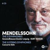Mendelssohn: The 5 Symphonies; The 13 String Symphonies