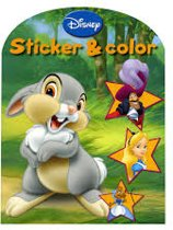 Disney sticker & color boek