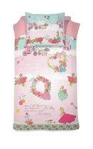 Cinderella Buttercup - Dekbedovertrek - Junior - 120x150 cm + 1 kussensloop 60x70 cm - Pink