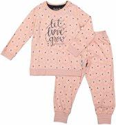 Charlie Choe pyjama meisjes - roze - Tree of love - maat 122/128