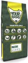 Yourdog mastiff hondenvoer pup 12 kg
