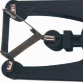 KLEM isolatiekous RT, zw, bi diam 3.5mm, hittebestendig, rektule