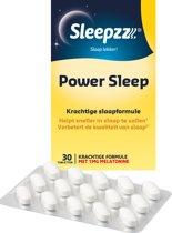 Sleepzz Power Sleep Slaaptabletten - 30 tabletten - Voedingssupplement
