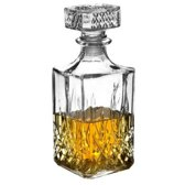 JY&K Whiskey karaf - 900 ML - Glas - Met Deksel