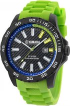 Yamaha Collection by TW Steel -  Horloge  - 40 mm -  Carbon - Groen