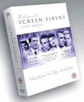 Hollywood Screen Sirens (3dvd)