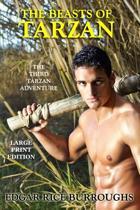The Beasts of Tarzan - Large Print Edition